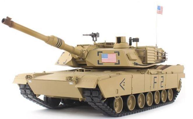 1:16 U.S. M1A2 Abrams main battle tanks remote control tank 1/16 rc tank 2.4G(China (Mainland))