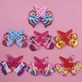 2Pcs Pair Cartoon 3D My Little Poni Baoli Shape Hairpin For Dolls Decor Parts Kids Children
