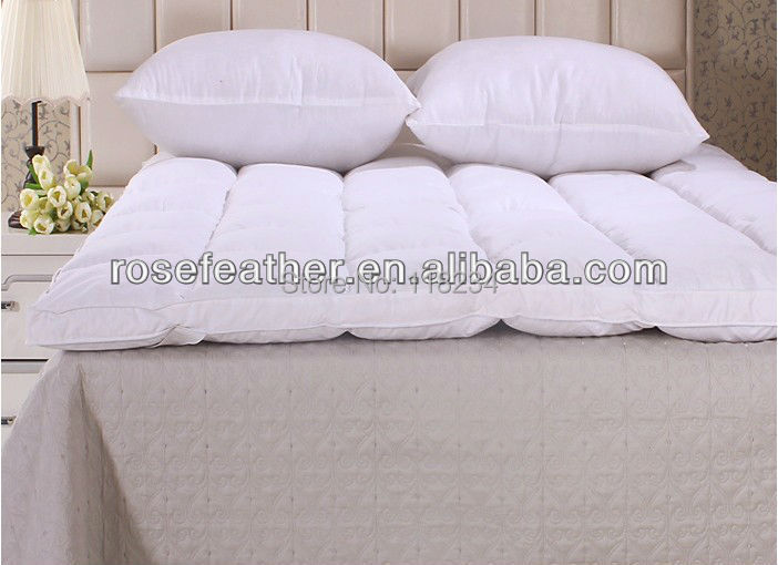 Free Shipping-Tow layer Mattress Topper-90% duck down-135*190cm<br>