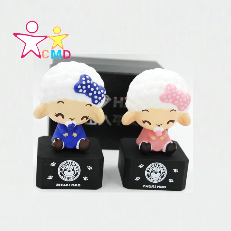 The year of the sheep new car perfume seat high-grade car perfume for diamond baby sheep cartoon car perfume(China (Mainland))