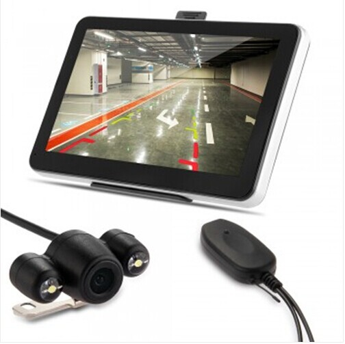 "7"" Car GPS Navigation Bluetooth AV-IN Wireless Reverse Camera Map(China (Mainland))"