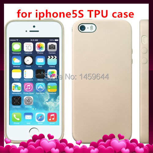 Hot TPU Soft Rubber Skin Cover Phone Case for iPhone 5 5S 5G Free shipping(China (Mainland))