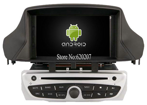 S160 Android 4.4.4 CAR DVD player FOR RENAULT Megane III (2009-2011)/ FLUENCE car audio stereo Multimedia GPS Quad-Core(China (Mainland))