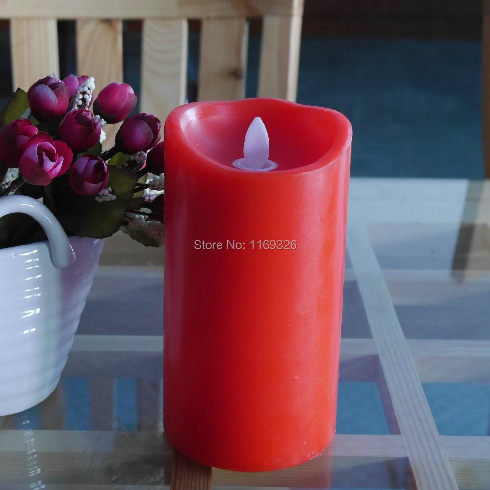 Flame moving wick candle light luminara flame pillar candles