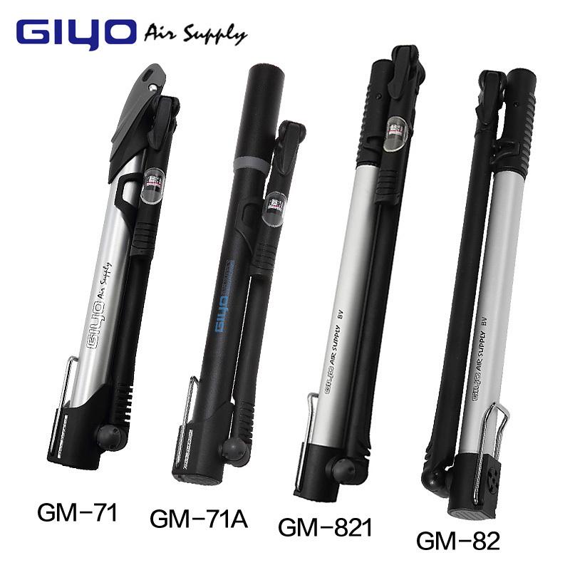 Brand GIYO Ultralight Bike Pump Portable Plastic Material Bomba Bicicleta American gas nozzle Bike Accessories(China (Mainland))