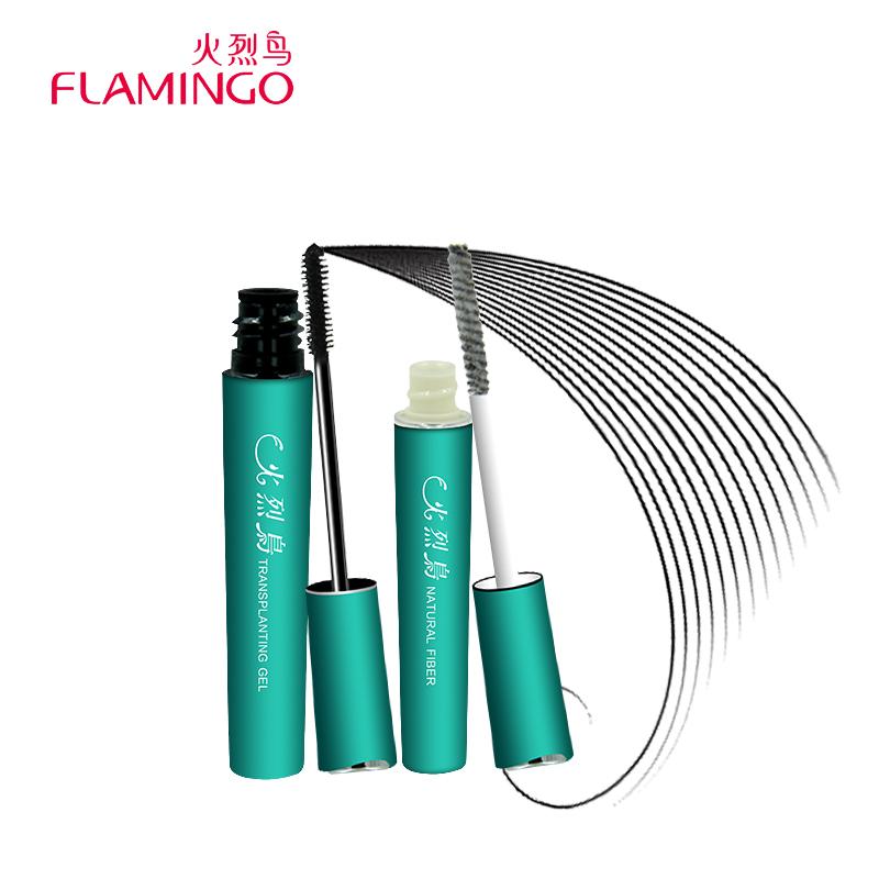 1Set=2pcs Multifunctional Pulmping Volumizing 2x Length Extension Combination Mascara .FibrousThick Lengthen Eye Lash 6199S.(China (Mainland))