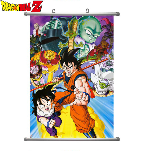 Hot 2015 new japan anime poster for wall decoration living for Decoration murale dragon ball