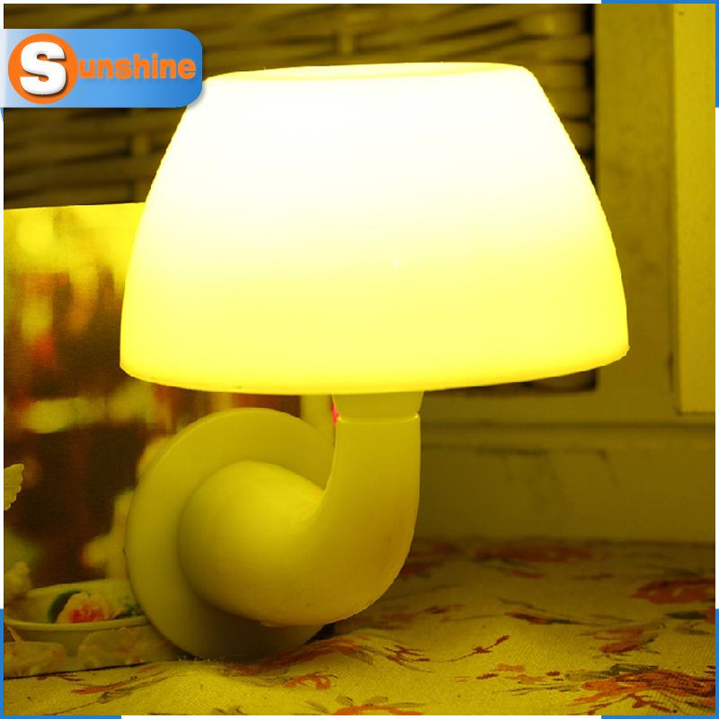 Emergency Night Light For child Novelty LED Sensor Lights sound/Light-dependent control LED Lamps baby abajur SL-YA192(China (Mainland))