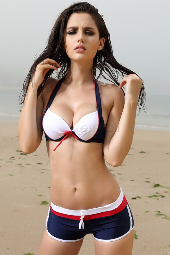 In bikinis models hot