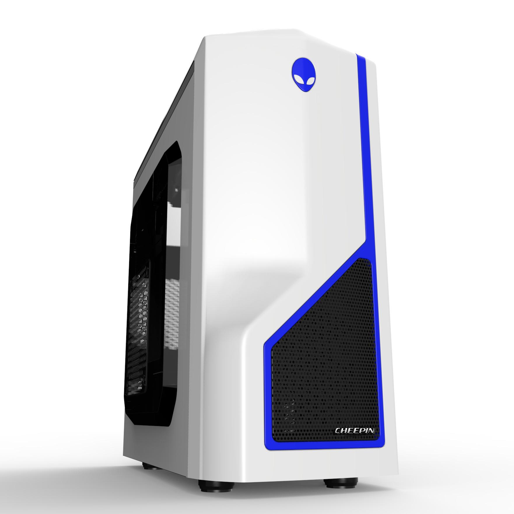 Computer Alien Case,USB 2.0,USB 3.0 MiniATX nas gabinete computador mini itx,2016 New gaming case QingP(China (Mainland))