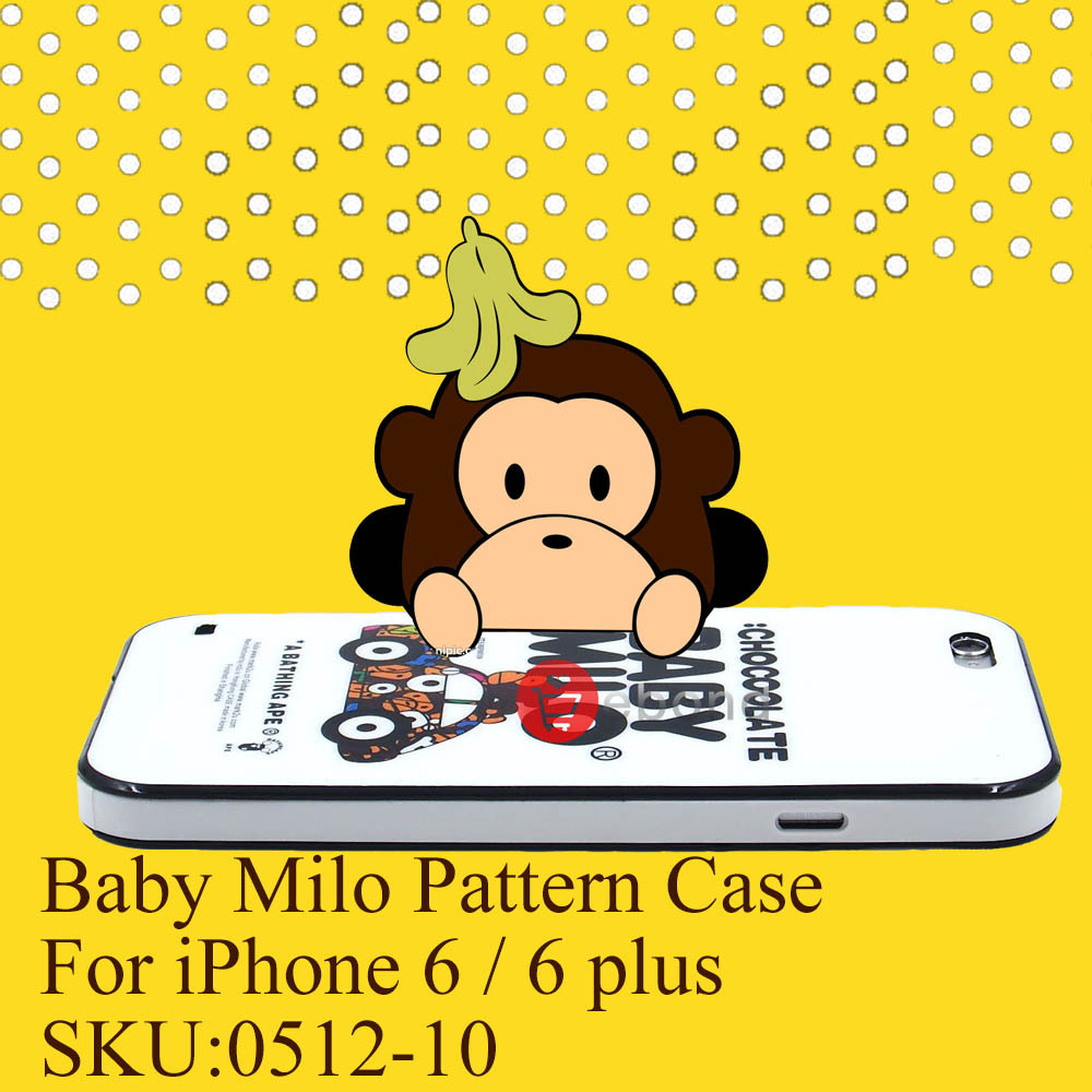Baby Milo Pattern Cell Phone Case for iPhone 6 4.7 Flexible Silicone Case Cover for iPhone 6 Plus Back Cover For iPhone 6 Cases(China (Mainland))