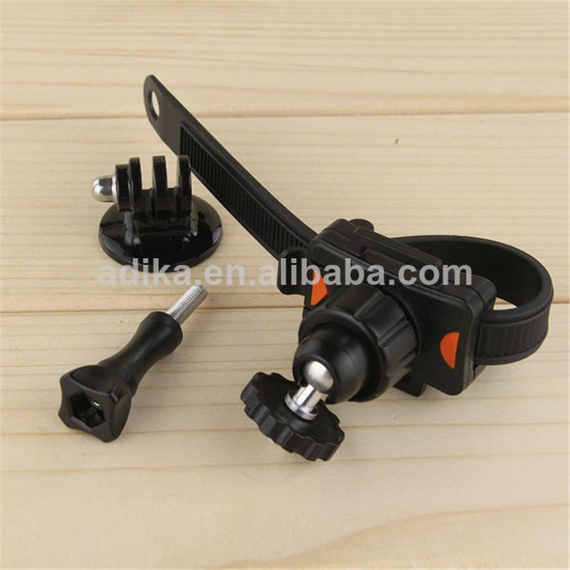 New Zip Tie bike Strap Mount for GoPro Camera + Tripod Adapter for Go pro Hero 4 3+ 3 2 SJ4000 Xiaomi yi action camera   GP169A<br><br>Aliexpress