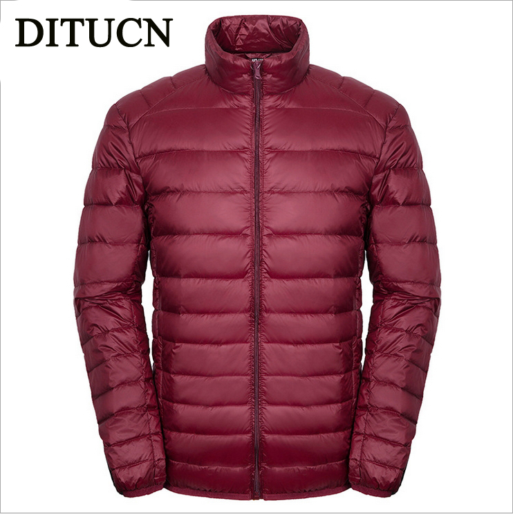 2016 NEW White goose down Winter Jacket Men White goose down cool warm Mens Jacket Casual coats Outwear For Men coat DITUCN(China (Mainland))