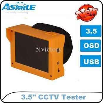 "Wholesale - Portable PRO 3.5"" TFT LCD Monitor CCTV Tester Camera Video Box DC5V/Input free shipping"