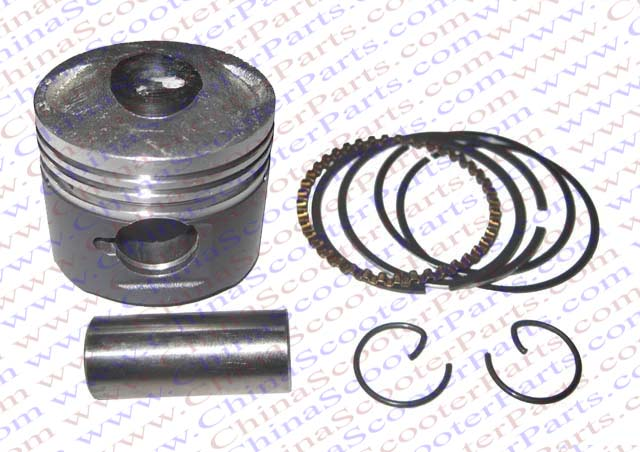 Performance molybdenum 39mm Piston Rings Kit font b GY6 b font 50CC Jonway Jmstar Yiying Wangye