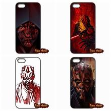 For iPhone SE Samsung Galaxy Alpha Ace 2 3 4 A3 A5 A7 J1 J5 J7 Xiaomi Mi3 Mi4 Mi5 Star Wars Darth Maul Art Phone Case Cover(China (Mainland))