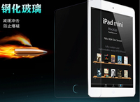 For tablet PC  Explosion-Proof Premium Tempered Glass Screen Protector for apple ipad air 2 and 2 3 4 with clear cloth