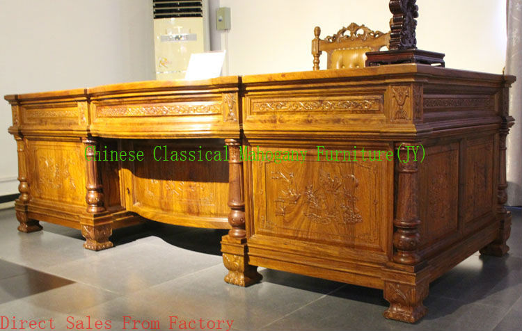 Chinese classical mahogany furniture rosewood furniture for Oriental style desk