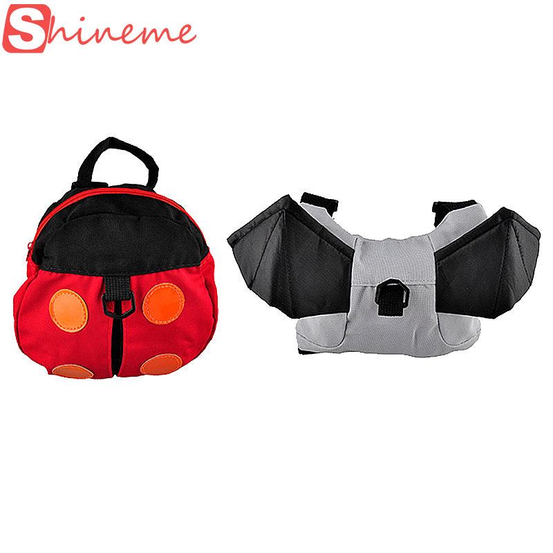 Popular baby carrier Anti-lost Harness Backpack for kids Keeper Toddler Walking Safety Bag Strap Rein Goldbug Walking Wings(China (Mainland))