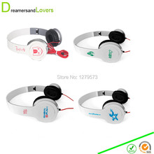 Dreamersandlovers 3.5mm Stereo Headphone Over Ear Folding Cosplay Anime Earphone Headset Kids,children,Adults for Smartphone