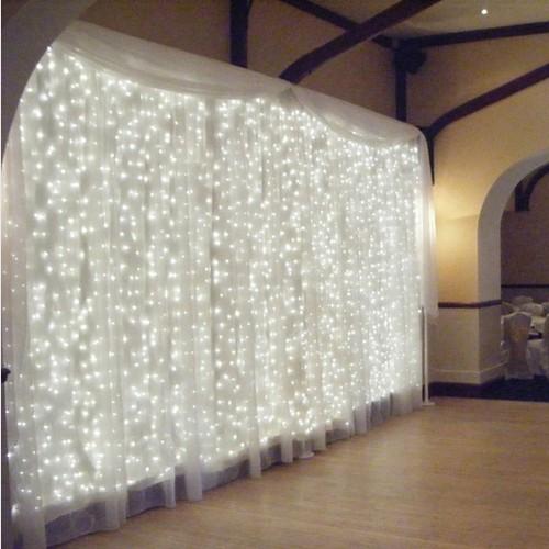 300 LED Wedding Light icicle Christmas Light LED String Fairy Light Bulb Garland Birthday Party Garden Curtain Decor(China (Mainland))