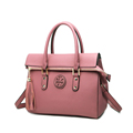 2016 New Fashion Famous Brand Handbag Solid Color Tassels Chic Zipper Women High Quality Designer Shoulder