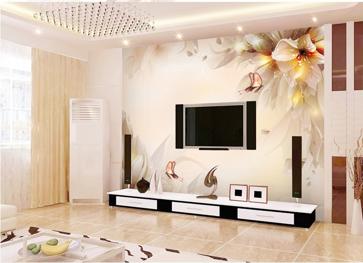 Hd Home Bed Pictures : Free shipping! 2013 New Large HD Shining Star Mural Wallpaper Bedroom ...