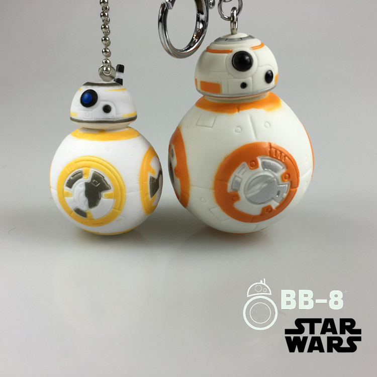 New style Star Wars The Force Awakens BB8 Droid Robot Action Figure stormtrooper Clone Trooper Strap BB-8 toys for boys gift(China (Mainland))