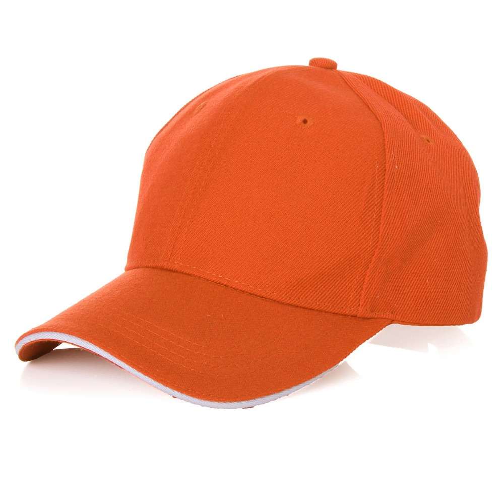 Wholesale Summer Style Baseball Cap Men Women Outdoor Sport Tennis Hiking Ball Caps Breathable Team Hat Customize 13 Colors