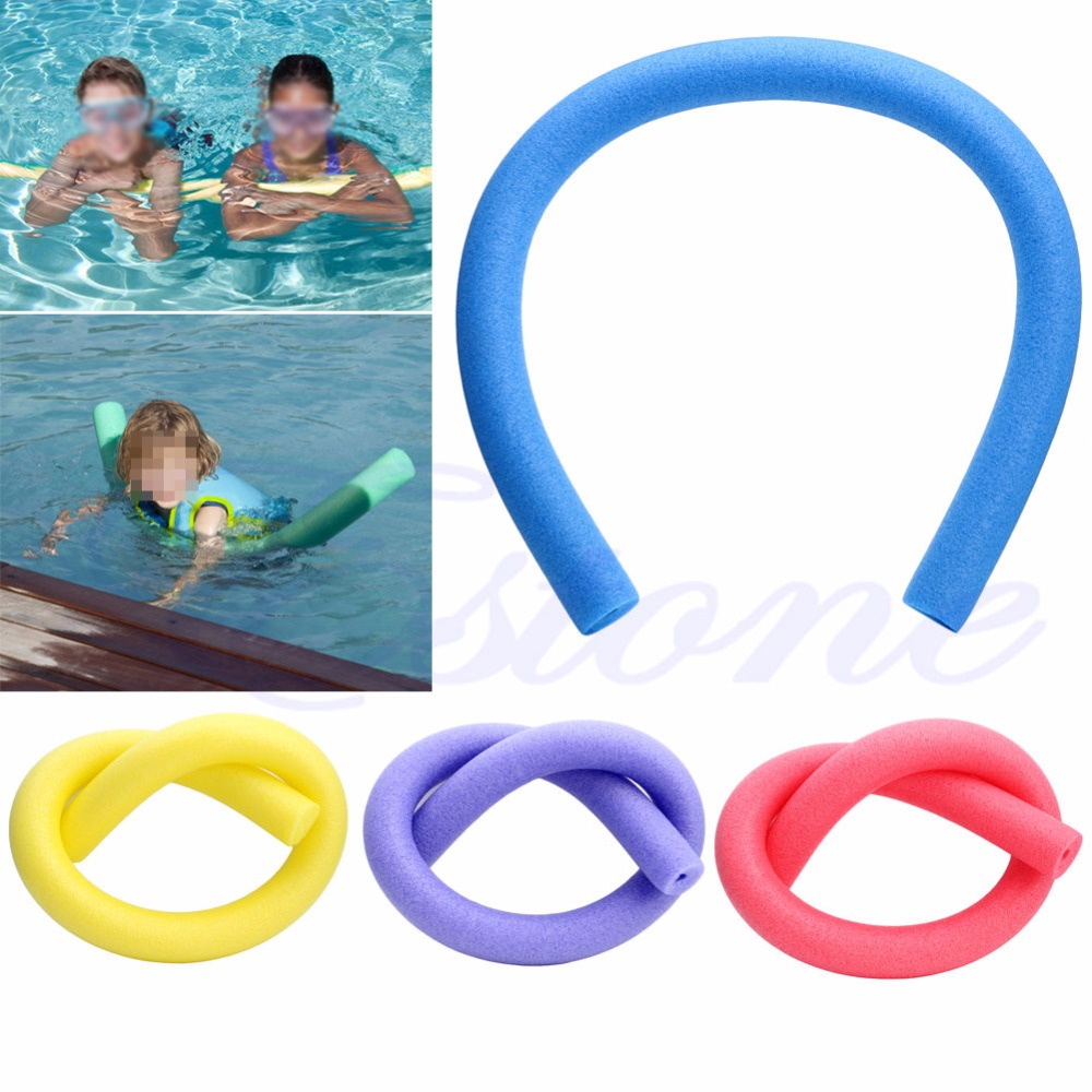 Rehabilitation Learn Swimming Pool Noodle Water Float Aid Woggle Swim Flexible 6 5 150cm Free
