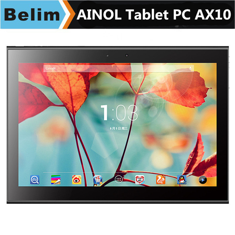 Ainol Numy AX10T AX10 4G 10 1 Capacitive IPS Touch Android 4 4 4 MTK8732 Quad
