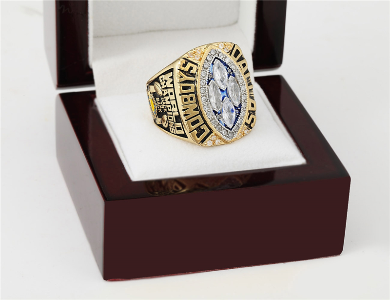 NFL Replica 1993 Dallas Cowboys Super Bowl Football Championship Rings Size 10-13 Best Fan Gift for Men Jewelry New Year Gift(China (Mainland))