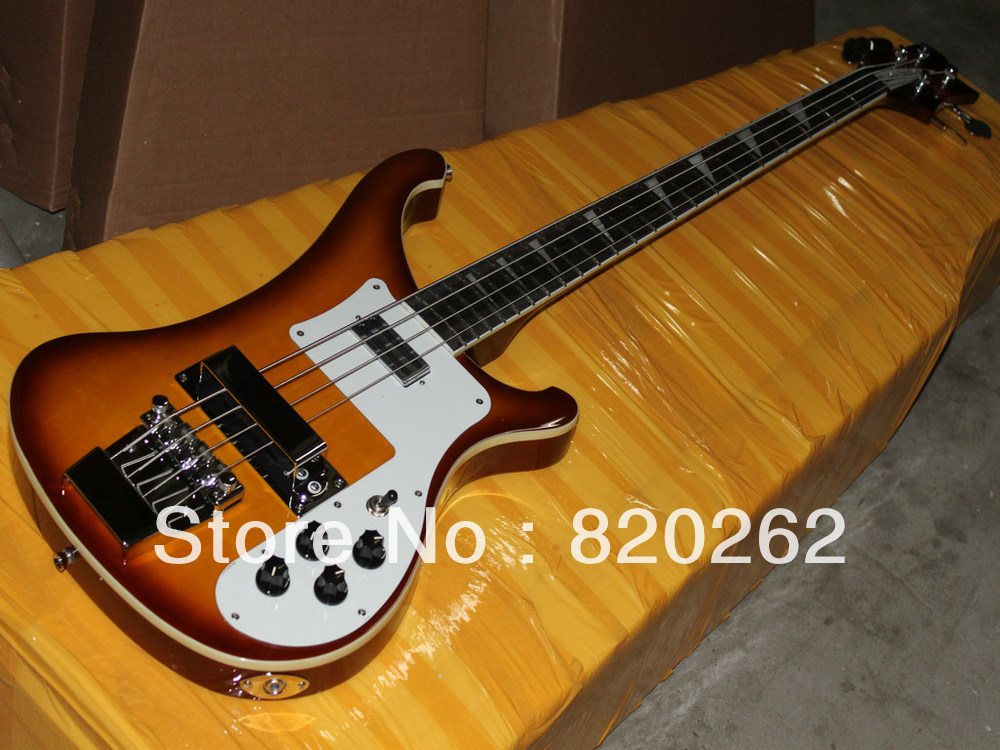 Best New Arrival 4 Strings 4003 Cherry Electric Bass Guitar Wholesale Free Shipping(China (Mainland))