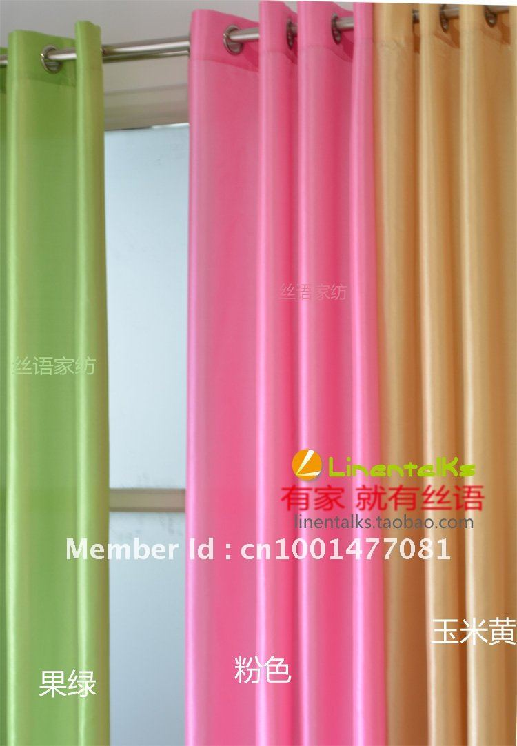 ready made europe gauze curtain 8 kinds of color to choose curtains for living room window. Black Bedroom Furniture Sets. Home Design Ideas