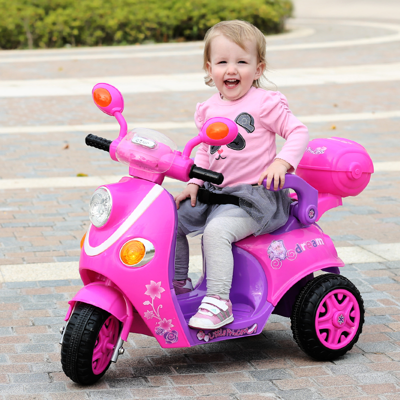 The new children 39 s electric car electric motorcycle Motorized baby stroller