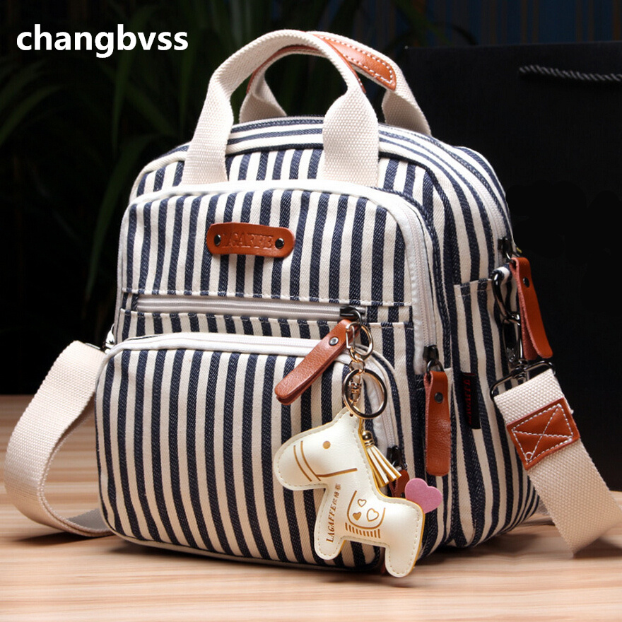 Multifunctional Fashion Diaper Backpack For Mom,New Cartoon Horse Decorate Mummy Bag for Baby,Top Quality Baby Diaper Nappy Bags(China (Mainland))