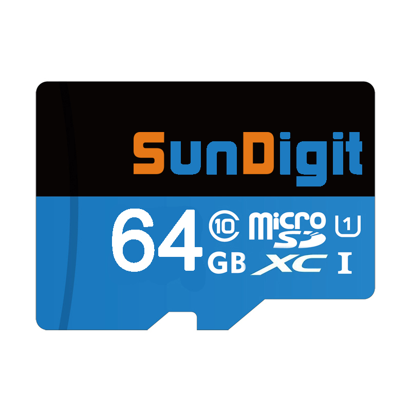 SunDigit Original Micro SD Card UHS-I SDHC U1 16GB 32GB Flash Memory Cards SDXC U1 64GB 128GB 300x TF Card faster than Class10(China (Mainland))