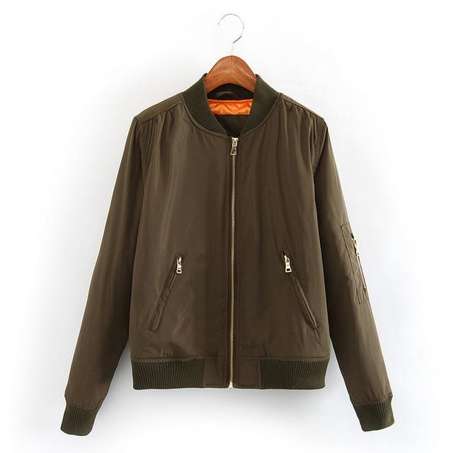 """Женщины плюс размер базовая куртка """"пилот"""" мягкий квилтинга зимнее пальто ..."""