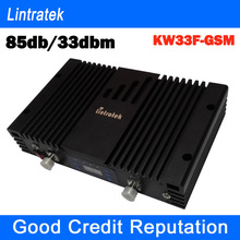 GSM signal booster 85db gain 33dbm output can cover big place high performance gsm 900mhz signal repeater amplifier(China (Mainland))