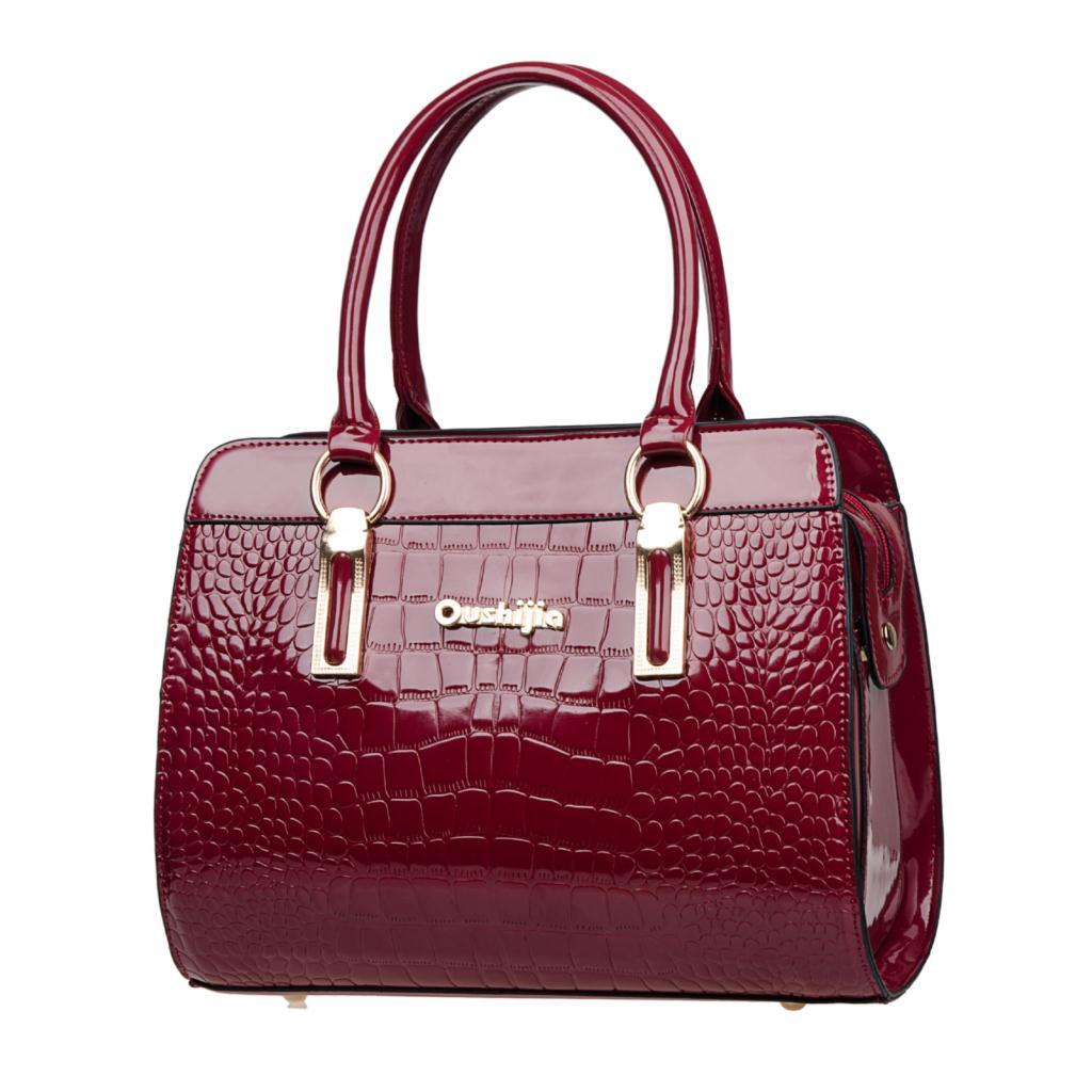2015 new fashion handbags designer PU leather messenger bag black shoulder bag women big shell bag(China (Mainland))