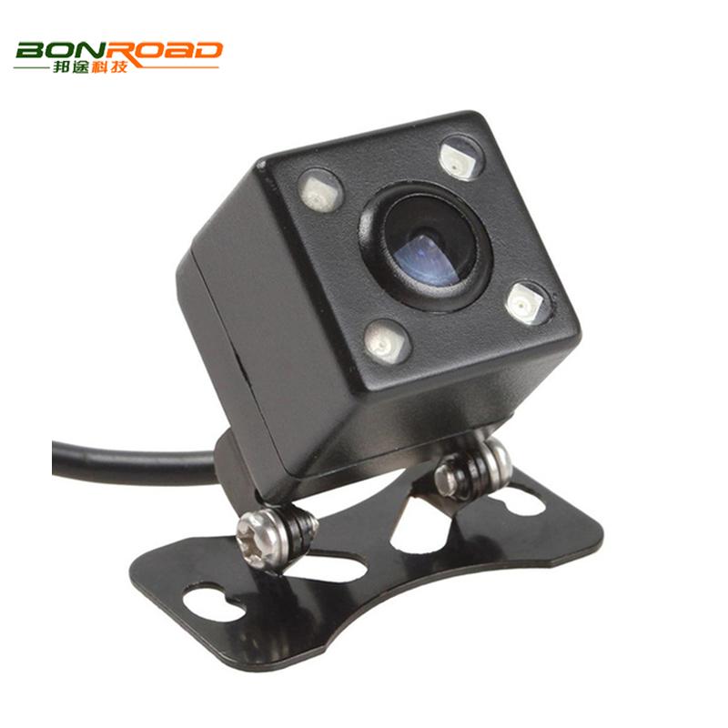 HD CCD 4 LED Night Vision Car Rear View Camera 170 Wide Angle Universal Car Reverse Rearview Camera Car Backup Parking Camera(China (Mainland))