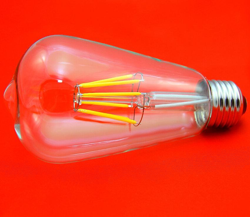 Nipple ST64 110V 220V 4W/6W E26/E27 Special lighting Filament antique edison light bulb vintage Edison lamp Halogen Bulbs(China (Mainland))