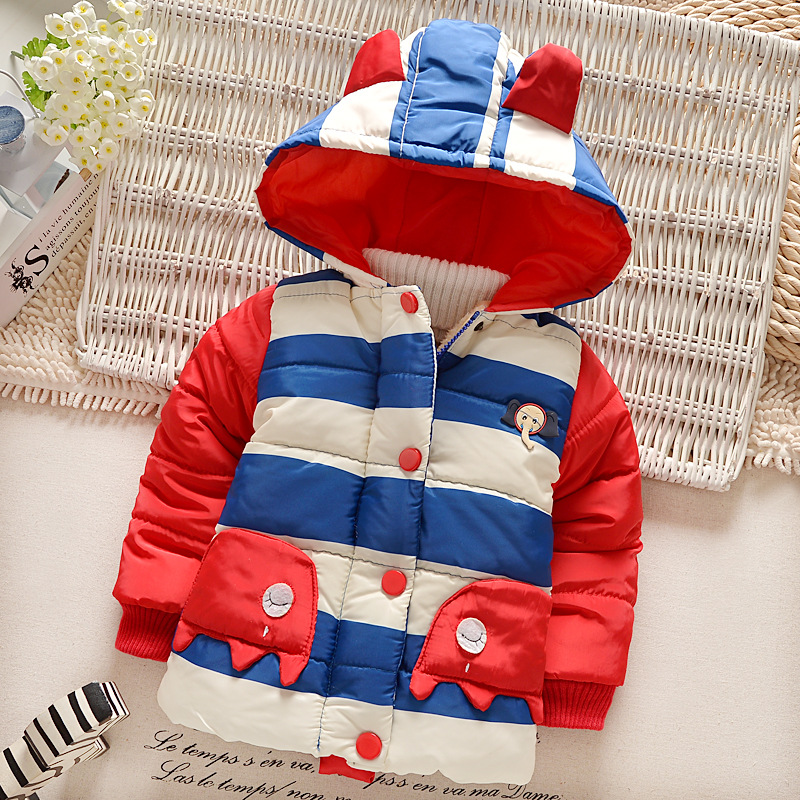 New 2016 winter boys girls outerwear parkas hooded boys girls coat fashion children winter jackets children outerwear & coats(China (Mainland))