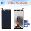 Black LCD for Alcatel OT6039 OneTouch Idol 3 6039 6039Y LCD display touch screen digitizer assembly