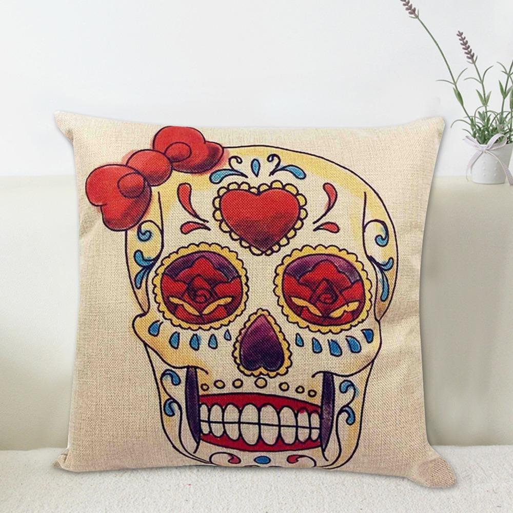45x45cm Linen Cushion For Decorative Sugar