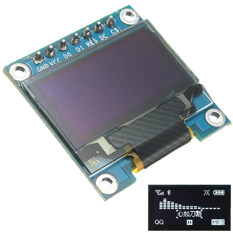 Brand New High Quality 0.96 IIC/I2C Serial 128x64 OLED LED Display White Module For Arduino/STM32/51(China (Mainland))