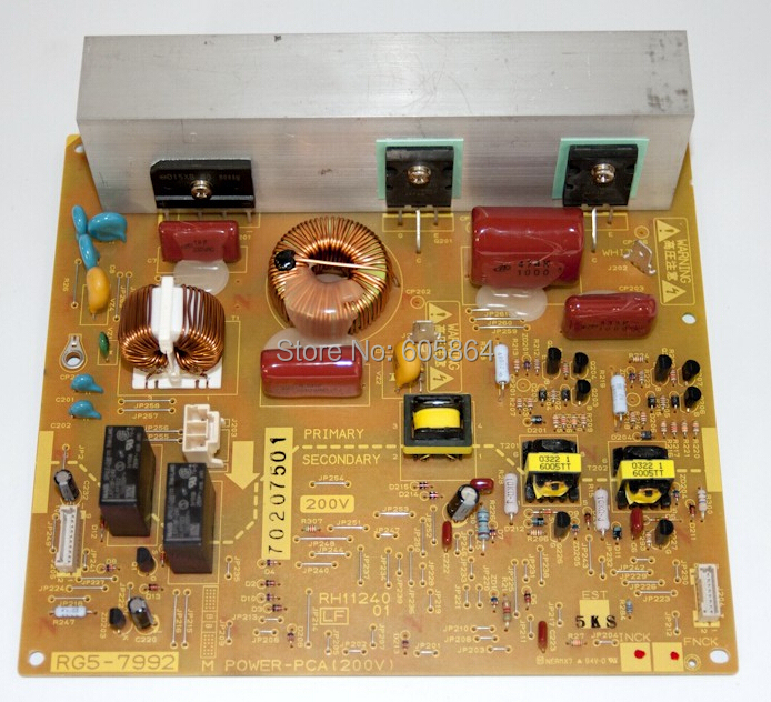 RG5-7992-000 Fuser Power Supply PC Board for 5500 (RG5-7992)(China (Mainland))