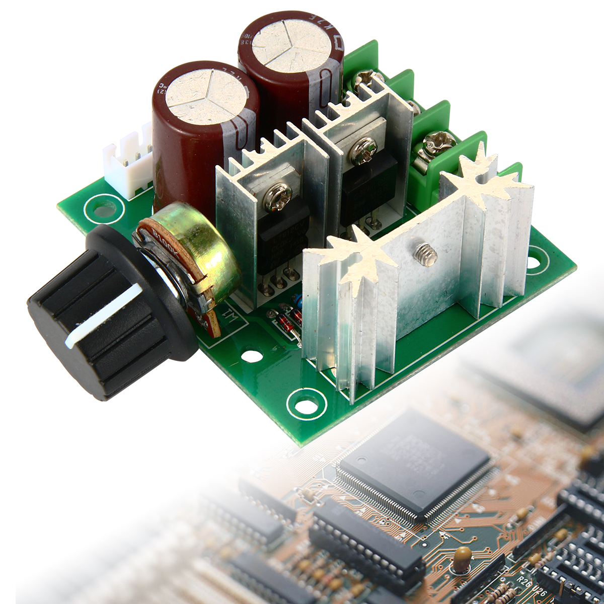400W 12V-40V 10A Pulse Width Modulator PWM DC Motor Speed Switch Controller TE365(China (Mainland))