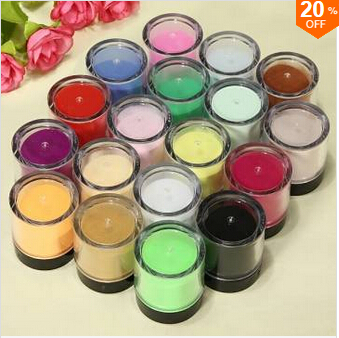 18 Color Acrylic UV Powder Dust Glitter Polish Nail Art Kit Set(China (Mainland))