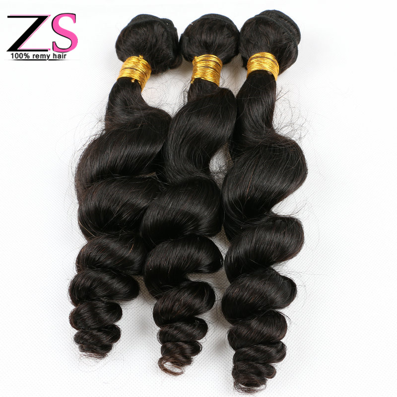 Aliexpress 6a unprocessed fashion Mixed length 3pcs Best quality Mongolian virgin hair extension loose body weaves machine weft<br><br>Aliexpress